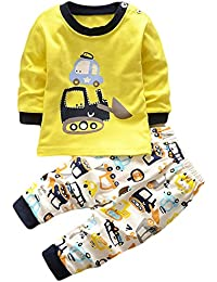 HENGSONG Fouilleur Impression Garçons Filles Coton Pyjama Bébé Four Seasons Sous-vêtements Ensembles Enfants