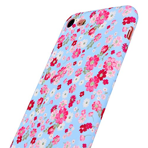 iPhone 7 Plus Coque, Funny Lumineuse Ultra Fine Protection Cover, Resistante Fleur Case Pour iPhone 7 Plus COLOR-C