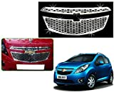 #6: SDR - Premium Quality Chrome Plated Front Grill For Chevrolet Beat Old