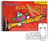 Voggys Blockflötenschule im Ringeinband mit praktischer Notenklammer - Die Fortsetzung der Sopran-Blockflötenschule (deu
