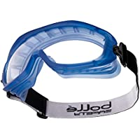 Bollé ATOAPSI - Gafas de seguridad con cinta elástica para cabeza (protección contra impactos)