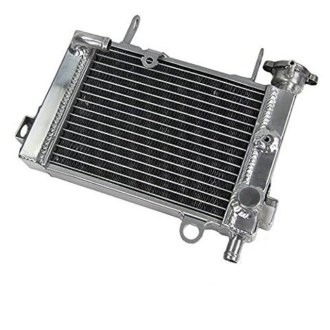 ALLOYWORKS Aluminum Radiator For Honda CBR125 CBR125R 2003-2009 Engine Cooling