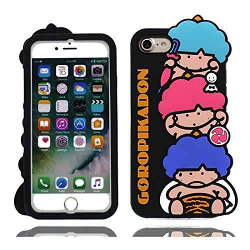 iPhone 6s Custodia, [Gel TPU] [ 3D Cartoon Cute Ragazzi ] Soft flessibile protettivo indietro leggero Case Cover Skin Bumper iPhone 6 Copertura, Graffi Prova # 2