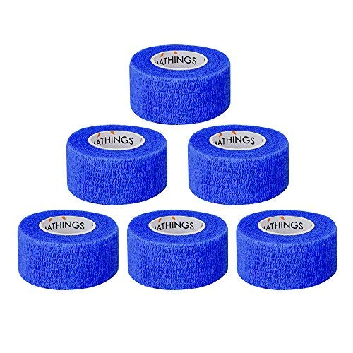 6 Stück Pflasterverband Kohesive Selbsthaftende Bandagen - Erste-hilfe-creme
