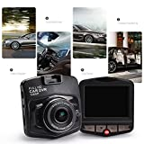 Full HD 1080P Dash Cam Digital Car DVR Driving Video Recorder Black Box Vehicle Camcorder, Built In G-Sensor, Loop Recording, Parking Monitor, Motion Detection, Blue