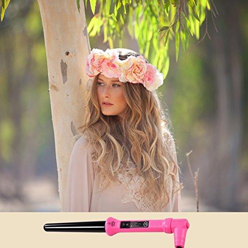 Golden Curl Lockenstab Hair Curler GL506 – langanhaltende Locken für alle Haartypen – unglaubliche 5-Jahres Garantie (18mm – 25mm, Pink) - 8