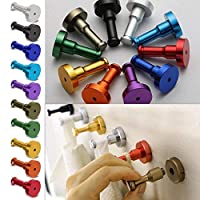 Features:100% new brand and high qualityFeaturesVarious and bright colors, very decorative for your house.strong load-bearing, no rust and fade, make your house in order.Fixing screws included.Material: Space AluminumSize: 31mm(Dia.) x 52mm(H)Notice:...