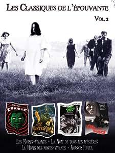 Coffret 4 DVD les classiques de l'épouvante Vol 2 : Les Morts-vivants, La nuit de tous les mystères, Horror Hotel, La nuit des Morts-vivants