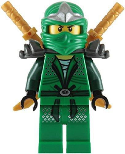 Lloyd ZX Green Ninja with Dual Gold Swords - LEGO