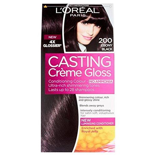 Couleur cheveux casting gloss