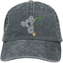 DEGTTFF Men Women Cartoon Koala Jeanet Baseball Hat Adjustable Trucker Cap