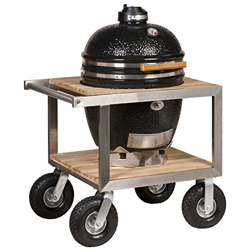 Monolith Classic Black mit Buggy Modell 2017 Keramikgrill Grill