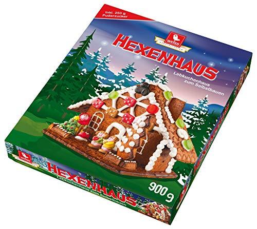Weiss - Lebkuchen Hexenhaus Lebkuchenhaus Süßwaren - 900g