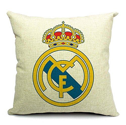 B Lyster Tienda el Mundo fútbol Club Real Madrid CF d149d algodón y poliéster Suave con Cremallera...