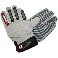 FKG-02 Fit linebacker football gloves, LB, RB, TE, Grey, barnett