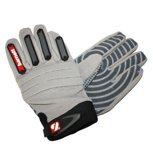 American Football Handschuhe FKG-02 L silber