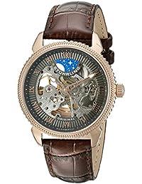 Stührling Original Man Special Reserve 835 - Reloj automático, para hombre, con correa de cuero, color marrón