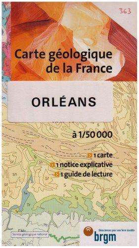 Carte géologique : Orléans par Cartes BRGM