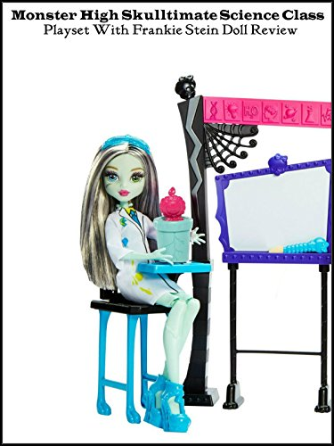Review: Monster High Skulltimate Science Class Playset with Frankie Stein Doll Review (Filme Online Monster High)