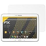 atFolix Schutzfolie für Samsung Galaxy Tab 3 10.1 (Wifi, 3G & LTE) Displayschutzfolie - 2 x FX-Antireflex blendfreie Folie