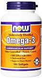 Now Foods, Omega-3, Herz-Kreislauf-Unterstützung, 180 Softgel Caps Bild