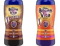 Bournvita 5 Star Magic Pro-Health Chocolate Drink Jar 500g & Bournvita Inner Strength Chocolate Drink Jar 500g