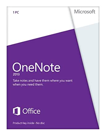 Microsoft OneNote 2013 - 1PC (Product Key) - englisch [Download]