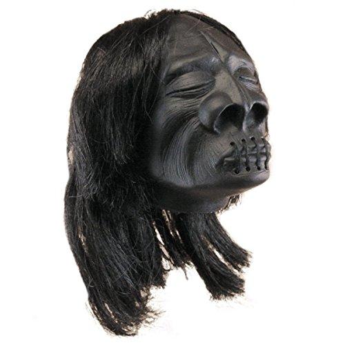 Halloween Prop Mini Zombie Shrunken Heads Pk6