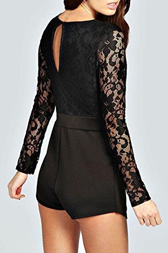 Dissa® femme Noir SY6352-2 robe de cocktail Noir