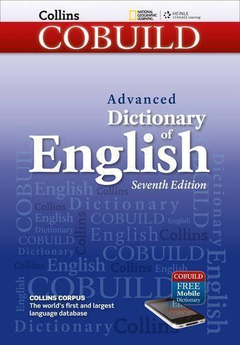 Collins COBUILD Advanced Dictionary of English (Collins COBUILD Dictionaries of English) 7th edition by Collins COBUILD (2012) Paperback