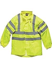 Dickies Sa22042 High Visibility Light Weight Jacket Yellow Small