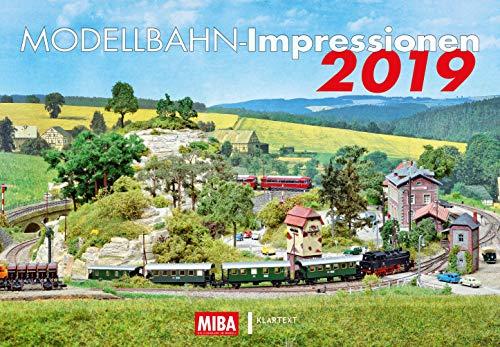 Modellbahn-Impressionen 2019: Kalender 2019