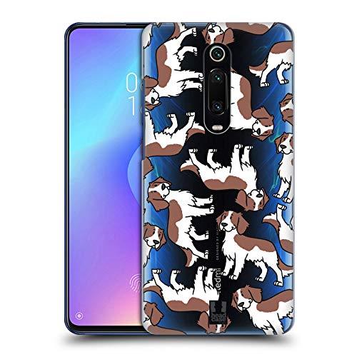 Head Case Designs Welsh Springer Spaniel Hunderassen Muster 13 Harte Rueckseiten Huelle kompatibel mit Xiaomi Redmi K20 / Pro -