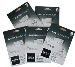 Sony 8GB Micro Vault M USB Flash Drive
