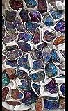 Bornite Crystal Beautiful Calcopirite One Specimen pavone rame ore