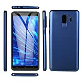 Prevently Android Dual-SIM Smartphone(5,7 Zoll) Touch-Display, 6.0 IPS VOLLBILD GSM/WCDMA Touchscreen WiFi Bluetooth GPS 2G Anruf Handy (Blau)