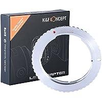 K&F Concept Adattatore per obiettivi, montaggio obiettivi Nikon AI-Canon EOS M Mirorless corpo macchina