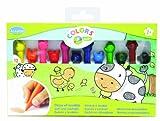 Aladine - 42015 - 12 Crayons De Couleur En Cire
