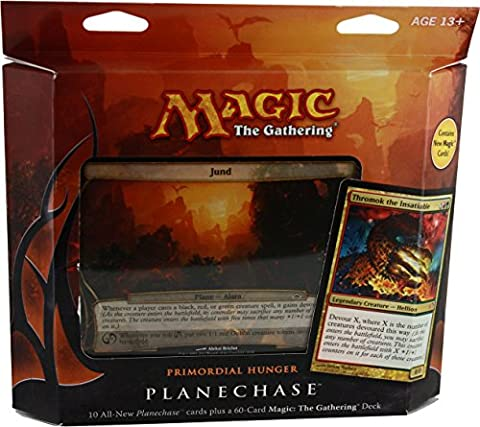 Magic the Gathering- MTG: Planechase (2012 Edition) Primordial Hunger - Game Pack by GTS