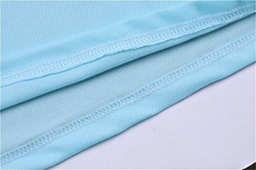 MTTROLI Herren T-Shirt Hellblau (Water Blue)