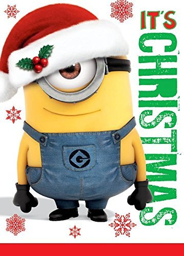 Despicable Me it 's Christmas mit Sound Weihnachten Card Minions