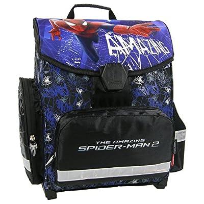 Spiderman - Spider-Man - Schulranzen Set 6teilig - Schulranzen - Schulranzen Ranzen Schultasche - Schulrucksack - 6 teilig