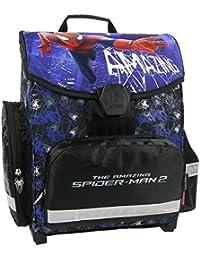 Spiderman–Uomo Ragno–Set pezzi–Cartella Cartella–Cartella Cartella Cartella–zaino per la scuola–6pezzi