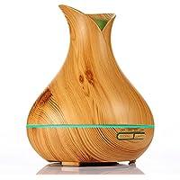 KBAYBO Diffusor Aroma Frische Luft Diffuser Nebler Ultraschall ätherisches Öl Körnung von Holz, 7 Farben Änderung... preisvergleich bei billige-tabletten.eu