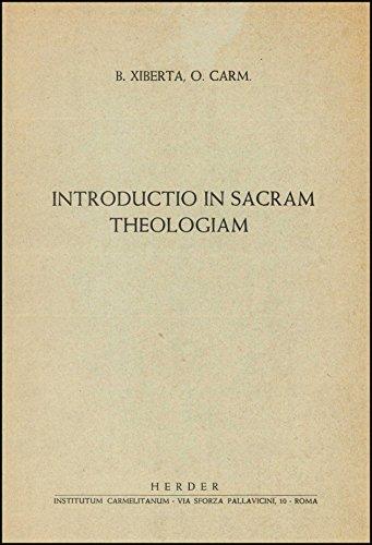 Introductio in Sacram Theologiam
