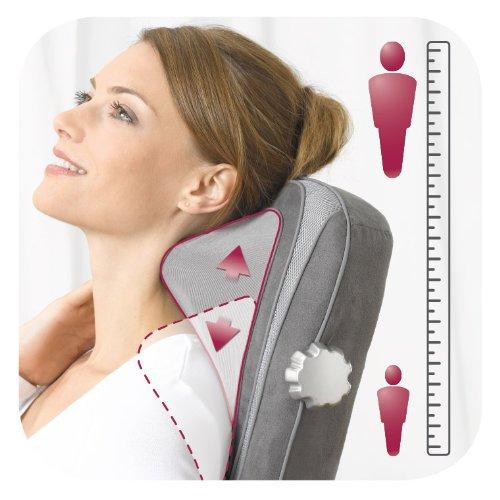 Beurer Massageauflage mit verstellbarer Nackenmassage