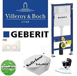 geberit duofix vorwandelement wand wc set villeroy boch ceramicplus takeoff baumarkt. Black Bedroom Furniture Sets. Home Design Ideas