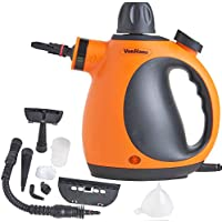 VonHaus Handheld Steam Cleaner - Multi-Purpose with Attachments