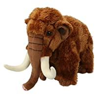 Living Nature Soft Toy - Large Woolly Mammoth (22cm)