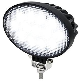 AdLuminis LED Arbeitsscheinwerfer Oval 39 Watt 3120 Lumen, CREE Chips, 60°, Für 12V 24V, IP67 Schutzklasse, 6000K, Zusatzscheinwerfer, Rückfahrscheinwerfer, Suchscheinwerfer, Arbeitsleuchte